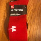 Under Armour Underwear & Socks | New Under Armour Ua Football Over-The-Calf Socks | Color: Red | Size: Xl