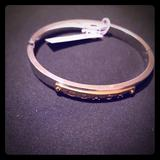 Coach Jewelry | Coach Silver And Gold Tone Bracelet Bangle | Color: Gold/Silver | Size: Os