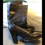 J. Crew Shoes | J Crew Leather Boots | Color: Brown | Size: 8.5
