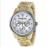 Michael Kors Accessories   Michael Kors Watch White Horn Mother Of Pearl Dial   Color: Cream   Size: Os