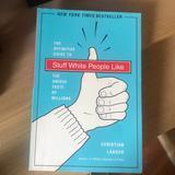 Anthropologie Kitchen | Book- Stuff White People Like - Christian Lander | Color: Blue | Size: Os