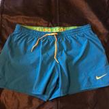 Nike Shorts | Nike Fit Dry Womens Athletic Short, Size M | Color: Blue | Size: M
