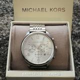 Michael Kors Accessories | Nwt Men'S Michael Kors Stainless Steel Watch | Color: Silver | Size: Os