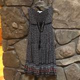 American Eagle Outfitters Dresses | Aeo Lace-Up Babydoll Dress | Color: Black | Size: S