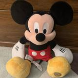 Disney Toys | Mickey Mouse Plush Toy 18 | Color: Black/Red | Size: 18 Tall