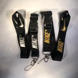 Nike Accessories | 2nike Lanyard Detachable Keychain Badge Id Holder | Color: Gold/Silver | Size: Os