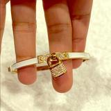 Michael Kors Jewelry   Michael Kors Diamond Bracelet   Color: Gold/White   Size: Os