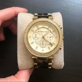 Michael Kors Accessories | Michael Kors Parker Watch | Color: Gold | Size: 39mm Diameter