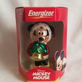Disney Holiday | Energizer Disney Minnie Mouse Glass Ornament | Color: Green/Red | Size: Os