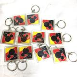 Disney Party Supplies   D23 Keychains Celebrating Mickey'S 90th - New   Color: Black/Yellow   Size: 1.5 X 1.5