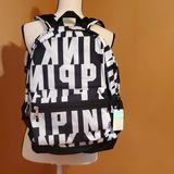 Pink Victoria's Secret Bags   Campus Backpack   Color: Black/White   Size: Os