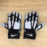 Nike Accessories | Nike Promo Leather Football Gloves 3xl | Color: Black | Size: 3xl