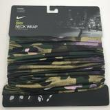 Nike Accessories | Nike Dri-Fit Neck Wrap Variety Wear Face Covering | Color: Black/Green | Size: Os