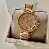 Michael Kors Accessories   Michael Kors Mk6326 Parker Rose-Tone Gold Watch   Color: Gold   Size: Os