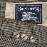 Burberry Suits & Blazers   42r Burberry 100% Silk Plaid Hopsack Tan Coat   Color: Orange/Red/Tan   Size: 42r