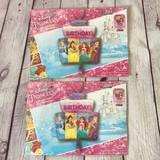 Disney Party Supplies   Disney Princess Foil Balloon Castle Shape   Color: Pink   Size: Os