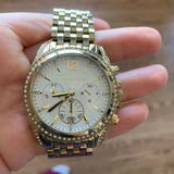 Michael Kors Accessories | Michael Kors Chronograph Gold Watch | Color: Gold | Size: Os