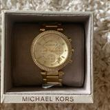 Michael Kors Accessories   Micheal Kors Gold Parker Watch   Color: Gold   Size: Os
