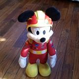 Disney Toys | Mickey Mouse Roadster Racer | Color: Red/Yellow | Size: Osbb