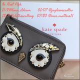 Kate Spade Bags | 127 112hp Katespade Leather Keychain Cardchange | Color: Tan | Size: Os