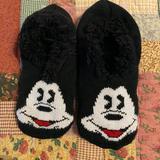 Torrid Other | New Torrid Mickey Mouse, Non-Slip Socks | Color: Black/White | Size: Medium-Large
