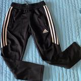 Adidas Bottoms | Kids Soccer Pants | Color: Black/White | Size: 7b