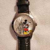 Disney Jewelry | Disney Mickey Mouse Watch | Color: Black/Silver | Size: Os