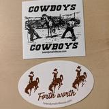 Brandy Melville Other   Brandy Melville Rare Cowboy Stickers   Color: Black/Brown   Size: Os