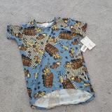 Lularoe Shirts & Tops | Lularoe Kids Gracie Size 8 | Color: Blue | Size: 8b
