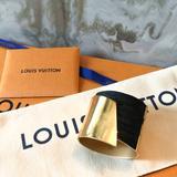 Louis Vuitton Jewelry   Louis Vuitton My Epi Gold & Black Cuff Bracelet   Color: Black/Gold   Size: Os