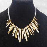 Torrid Jewelry | Gold Silver Diamond Necklace | Color: Gold/Silver | Size: Os