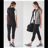Lululemon Athletica Other | Nwt Insculpt Vest ,Reversible Vest 4 | Color: Black/Gray | Size: Os