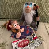 Disney Toys | Disney Stuffed Animals Lion King Aladdin | Color: Gray/Red | Size: Osb