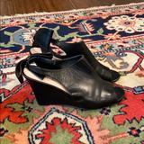 Kate Spade Shoes | Kate Spade Wedge Peep Toe Wedges | Color: Black | Size: 8