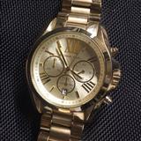 Michael Kors Accessories   Michael Kors Womans Bradshaw Gold Watch   Color: Gold   Size: Womans Or Mens