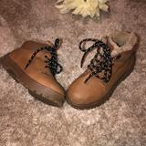 Zara Shoes   Brown Zara Baby Boots Size 25 (3 Years)   Color: Brown   Size: 25