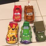 Disney Toys | Disney Truck And Car Toys , Metal, Plastic | Color: Brown/Red | Size: One