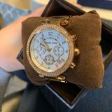 Michael Kors Accessories | Michael Kors Parker Rose Gold-Tone Watch | Color: Gold/Pink | Size: Os