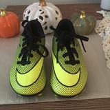 Nike Shoes | Nike Childrens Soccer Cleats. | Color: Black/Green | Size: 10 C