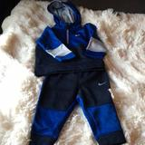 Nike Matching Sets | Baby Boy Blue & Grey Nike Track Suit. 12m. | Color: Blue/Gray | Size: 12mb