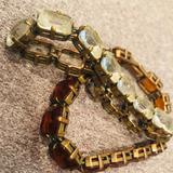 J. Crew Jewelry   J.Crew. Chunky Tennis Bracelet W Clear Gemstones.   Color: White   Size: 7.5