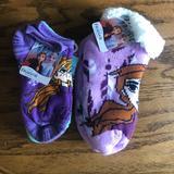 Disney Accessories | Disney Frozen Ii No Show Socks & Slipper Bundle | Color: Blue/Purple | Size: Smallmedium