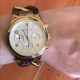 Michael Kors Accessories   Michael Kors Tortoise Shell Watch   Color: Brown/Gold   Size: Os