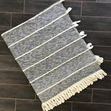 Anthropologie Bedding   Anthropologie Grey Throw Blanket   Color: Red/White   Size: 60x70