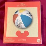 Disney Toys | Mickey Mouse Beach Ball | Color: Blue/Red | Size: Standard Beach Ball