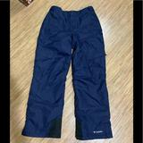Columbia Jackets & Coats   Columbia Omni-Shield Snow Pants Size 1820   Color: Black/Blue   Size: 1820 (Youth)