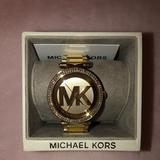 Michael Kors Jewelry | Michael Kors Goldtone With Czs | Color: Gold | Size: 7 Comes Wextra Links