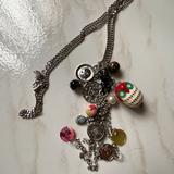 Zara Jewelry | Charm Necklace Silver Tone From Zara | Color: Silver | Size: Os