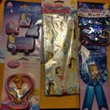 Disney Party Supplies   Disney Cinderella Party Supplies   Color: Purple   Size: Os