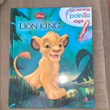 Disney Other | Disney The Lion King Poingo Interactive Book | Color: black | Size: Os
